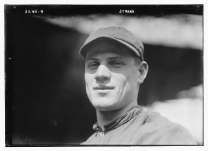 Paul Strand - 325 hits in a single Pacific Coast League Season.  Photo:  Library of Congress; George Grantham Bain Collection.