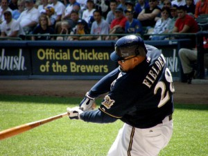 Prince Fielder - looking to re-energize hit bat in Texas.