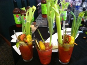 Make Your Own Bloody Mary brings out the creativity among our BPT crew.