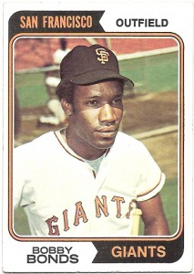 Bobby Bonds notched an MLB-record five 30-30 seasons - matched only by his son Barry.