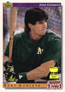 Jose Canseco - first member of the 40-40 Club.