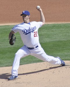 Clayton Kershaw - making the case for another Cy Young.