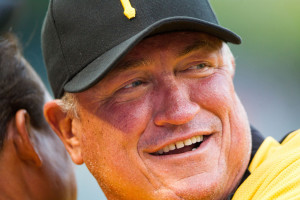 Pirates' Manager Clint Hurdle - a second consecutive post-season berth and a second consecutive Connie Mack Award.