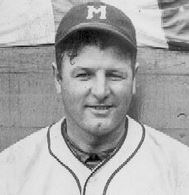 Buzz Arlett - the minor league's greatest player - during his time with the Minneapolis Millers.