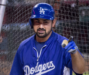 Adrian Gonzalez - only player to earn a Gold Glove AND a Silver Slugger in 2014.