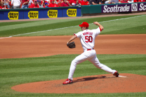 Adam Wainwright, Cardinals' Cy Young candidate.