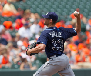 """James Shields - new Padres' """"Ace."""""""