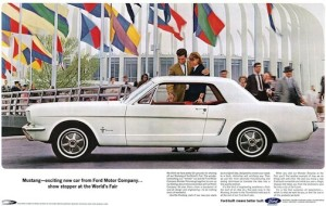 The Ford Mustang debuted 51 years to the day before Kris Bryant's first MLB game.