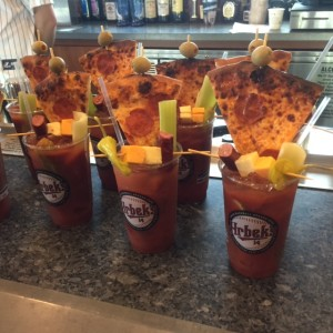College Daze Bloody Mary - made a big splash at Target Field Food and Beverage Preview.