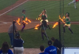 The fire dancers, as they say, were hot.