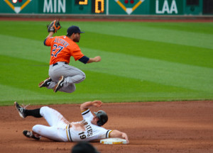 Jose Altuve - Like the Astros, flying high.