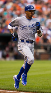 Alcides Escobar - Toured the bases for an inside-the-park home run in the first (of 14) inning(s).