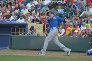 Longest HR of 2015 - Kris Bryant? Could be.