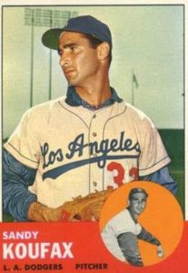 Sandy Koufax logged a record three immaculate innings.