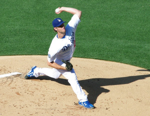 Clayton Kershaw got the Dodgers going with x scoreless innings on Opening Day.