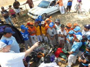 Helping Kids Round First delivers baseball equipment, hope and empowerment across Nicaragua. Photo courtesy of Daniel Venn.