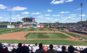 Principal Park - Des Moines - home of the Iowa Cubs.