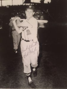 "Bob ""Hurricane"" Hazle ... still a treasured autograph."