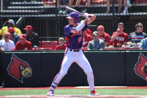Seth Beer - first rfeshman Dick Howser Trophy winner - helped lead the Clemson Tigers to thr 2016 ACC Title.