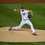Max Scherzer Nationals photo