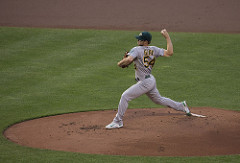Sonny Gray Photo by Keith Allison