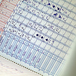 Baseball scorecard photo