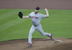 Chris sale Red Sox photo