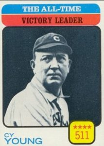 "Cy Young, appropriately, pitched the first perfect game at the modern 60'6"" pitching distance."